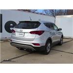 Trailer Hitch Installation - 2018 Hyundai Santa Fe - Draw-Tite