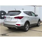 Trailer Hitch Installation - 2018 Hyundai Santa Fe - Curt