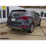 etrailer.com Trailer Hitch Installation - 2018 Hyundai Santa Fe