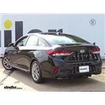 Curt Trailer Hitch Installation - 2018 Hyundai Sonata
