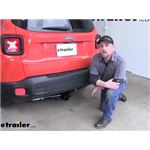 Draw-Tite Max-Frame Trailer Hitch Installation - 2018 Jeep Renegade