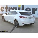 Draw-Tite Sportframe Trailer Hitch Installation - 2018 Mazda 3