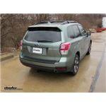 Trailer Hitch Installation - 2018 Subaru Forester - Draw-Tite