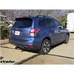 etrailer.com Trailer Hitch Installation - 2018 Subaru Forester