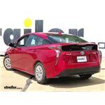Draw-Tite Sportframe Trailer Hitch Installation - 2018 Toyota Prius