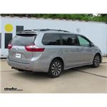 Trailer Hitch Installation - 2018 Toyota Sienna - Draw-Tite