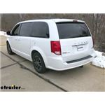 etrailer.com Trailer Hitch Installation - 2019 Dodge Grand Caravan