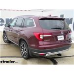 etrailer.com Trailer Hitch Installation - 2019 Honda Pilot