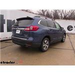 Draw-Tite Max-Frame Trailer Hitch Installation - 2019 Subaru Ascent