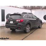 Draw-Tite Max-Frame Trailer Hitch Installation - 2019 Subaru Outback Wagon