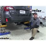 Curt Trailer Hitch Installation - 2019 Subaru Outback Wagon