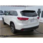 etrailer.com Trailer Hitch Installation - 2019 Toyota Highlander