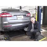 Draw-Tite Sportframe Trailer Hitch Installation - 2020 Ford Fusion
