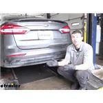 Curt Trailer Hitch Installation - 2020 Ford Fusion