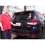 Draw-Tite Trailer Hitch Installation - 2020 Subaru Forester