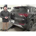 Curt Class I Trailer Hitch Installation - 2021 Chevrolet Trailblazer