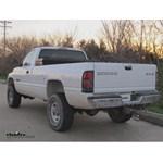 Trailer Wiring Harness Adapter Installation - 1995 Dodge Ram