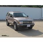 Trailer Wiring Harness Installation - 1996 Chevrolet Blazer