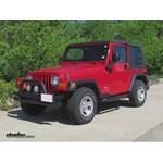 Trailer Wiring Harness Installation - 2005 Jeep Wrangler