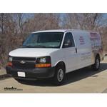 Trailer Wiring Harness Installation - 2008 Chevrolet Express Van