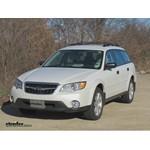 Trailer Wiring Harness Installation - 2009 Subaru Outback