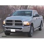 Fifth Wheel and Gooseneck Wiring Harness Installation - 2010 Dodge Ram