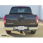 Trailer Wiring Harness Installation - 2011 Nissan Frontier