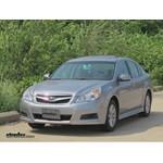 Trailer Wiring Harness Installation - 2011 Subaru Legacy