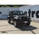 Trailer Wiring Harness Installation - 2012 Jeep Wrangler