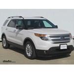 Trailer Wiring Harness Installation - 2013 Ford Explorer