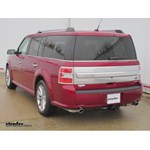 Trailer Wiring Harness Installation - 2014 Ford Flex