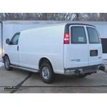 Trailer Wiring Harness Installation - 2014 GMC Savanna Van
