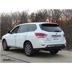 Trailer Wiring Harness Installation - 2014 Nissan Pathfinder