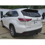 Tow Ready 4 Pole to 5 Pole Trailer Wiring Adapter Installation - 2015 Toyota Highlander