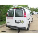 Trailer Wiring Harness Installation - 2016 Chevrolet Express Van