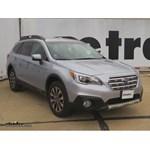 Hopkins Trailer Wiring Harness Installation - 2016 Subaru Outback Wagon