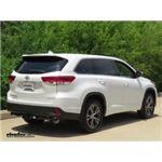 Trailer Wiring Harness Installation - 2017 Toyota Highlander