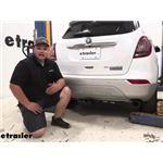 Tekonsha T-One Vehicle Wiring Harness Installation - 2019 Buick Encore