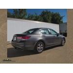 Trailer Wiring Harness Installation - 2012 Honda Accord