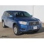 Trailer Wiring Harness Installation - 2012 Toyota Highlander