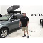 Trunx Rooftop Cargo Carrier Installation - 2009 Subaru Forester