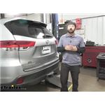 etrailer Trailer Brake Controller Universal Kit Installation - 2019 Toyota Highlander