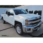 WeatherTech Rear Mud Flaps Installation - 2015 Chevrolet Silverado 2500