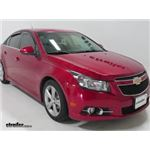 WeatherTech Front and Rear Side Window Air Deflectors Installation - 2013 Chevrolet Cruze