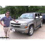 Wheel Masters Vision Plus Extendable Towing Mirrors Installation - 2001 Chevrolet Tahoe