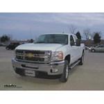 Fifth Wheel and Gooseneck Wiring Harness Installation - 2013 Chevrolet Silverado