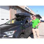 Yakima CBX Solar Rooftop Cargo Box Review - 2017 Toyota RAV4