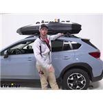 Yakima CBX Solar Rooftop Cargo Box Review - 2020 Subaru Crosstrek