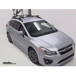 Yakima ForkLift Roof Mounted Bike Rack Review - 2012 Subaru Impreza