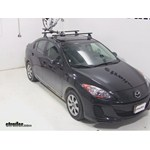 Yakima ForkLift Roof Mounted Bike Rack Review - 2013 Mazda 3
